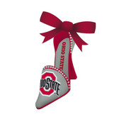 OHIO ST ORNAMENT - HIGH-HEELED SHOE
