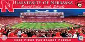 Nebraska Cornhuskers Panoramic Stadium Puzzle