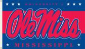 Mississippi Rebels 3 Ft. x 5 Ft. Flag w/Grommets