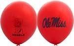 "Mississippi Rebels 11"" Balloons"
