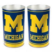 """Michigan Wolverines 15"""" Wastebasket"""