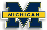 "Michigan Wolverines 12"" Car Magnet"