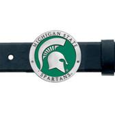 Michigan State Spartans Belt Buckle