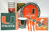 Miami Hurricanes Party Supplies Pack #1