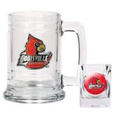 Louisville Cardinals Boilermaker Set