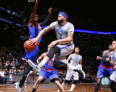 Brooklyn Nets Deron Williams Action 24x30 Stretched Canvas
