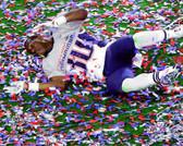 New England Patriots Duron Harmon Super Bowl XLIX Celebration 20x24 Stretched Canvas