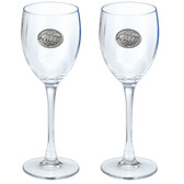 """""""By A Nose"""" Goblets (Set of 2)"""