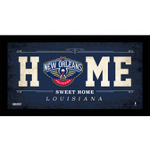 New Orleans Pelicans 6x12 Home Sweet Home Sign