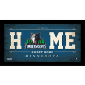 Minnesota Timberwolves 6x12 Home Sweet Home Sign