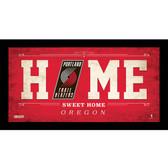 Portland Trail Blazers 6x12 Home Sweet Home Sign