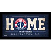 Washington Wizards 6x12 Home Sweet Home Sign