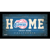 Los Angeles Clippers 10x20 Home Sweet Home Sign