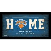 New York Knicks 10x20 Home Sweet Home Sign