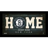 Brooklyn Nets 10x20 Home Sweet Home Sign
