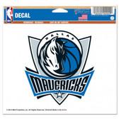 Dallas Mavericks 5x6 Color Decal