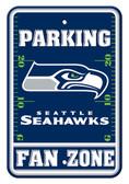 Seattle Seahawks 12x18 Plastic Fan Zone Sign