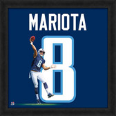 Tennessee Titans Marcus Mariota 20x20 Uniframe Jersey Photo