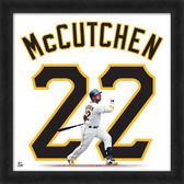 Pittsburgh Pirates Andrew McCutchen 20x20 Uniframe Home Jersey Photo