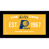Indiana Pacers 6x12 Kids Cave Sign