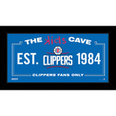 Los Angeles Clippers 10x20 Kids Cave Sign