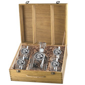 Southern Miss Golden Eagles Capitol Decanter Box Set