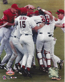 Los Angeles Angels 2002 World Series Celebration 8x10 Team Photo
