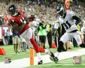Atlanta Falcons Julio Jones 16x20 Stretched Canvas