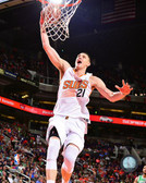 Phoenix Suns Alex Len 16x20 Stretched Canvas