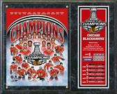 Chicago Blackhawks 2015 Stanley Cup® Champions Composite Plaque