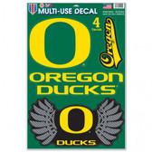 "Oregon Ducks 11""x17"" Ultra Decal Sheet"