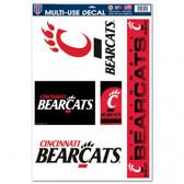 "Cincinnati Bearcats 11""x17"" Ultra Decal Sheet"