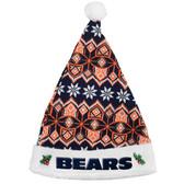 Chicago Bears 2015 Knit Santa Hat