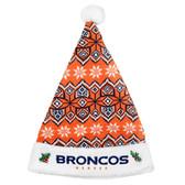 Denver Broncos 2015 Knit Santa Hat
