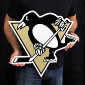 "Pittsburgh Penguins 22"" Lasercut Steel Logo Sign"