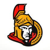 "Ottawa Senators 12""  Lasercut Steel Logo Sign"