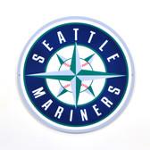 "Seattle Mariners 12"" Lasercut Steel Logo Sign"