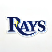 "Tampa Bay Rays 12"" Lasercut Steel Logo Sign"