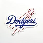 "Los Angeles Dodgers 12"" Lasercut Steel Logo Sign"
