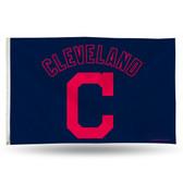 """Cleveland Indians  """"C LOGO"""" Banner Flag"""