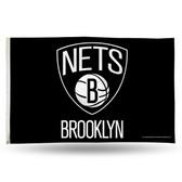 Brooklyn Nets  3X5 Banner Flag