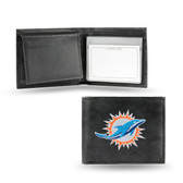 Miami Dolphins  Embroidered Billfold