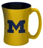 Michigan Wolverines 14 oz Mocha Coffee Mug