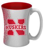 Nebraska Cornhuskers 14 oz Mocha Coffee Mug
