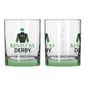 142nd Kentucky Derby Elite Rocks Glass