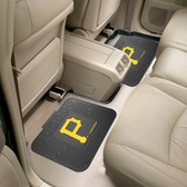 "Pittsburgh Pirates Backseat Utility Mats 2 Pack 14""x17"""