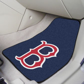 "Boston Red Sox 2-piece Carpeted Car Mats 17""x27"""