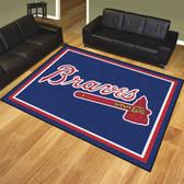 Atlanta Braves 8'x10' Rug