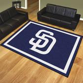 San Diego Padres 8'x10' Rug