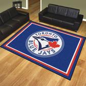 Toronto Blue Jays 8'x10' Rug
